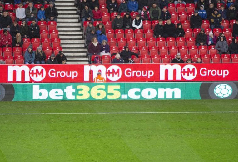 Pitchside Football Advertising Boards